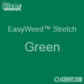 """12"""" x 5 Yard Roll Siser EasyWeed Stretch HTV - Green"""