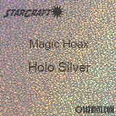 "12"" x 24"" Sheet - StarCraft Magic - Hoax Holo Silver"