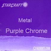 "12"" x 12"" Sheet - StarCraft Metal - Purple Chrome"