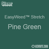 """12"""" x 5 Foot Roll Siser EasyWeed Stretch HTV - Pine Green"""