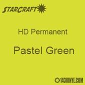 "12"" x 24"" Sheet - StarCraft HD Glossy Permanent Vinyl - Pastel Green"