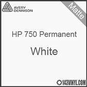 "Avery HP 750 - Matte White- 12"" x 5 Foot"