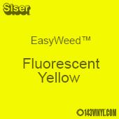 "12"" x 15"" Sheet Siser EasyWeed HTV - Fluorescent Yellow"
