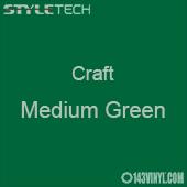 "Styletech Craft Vinyl - Medium Green- 12"" x 5 Foot"