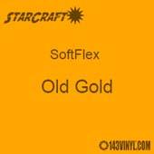 "12"" x 5 Foot Roll StarCraft SoftFlex HTV - Old Gold"