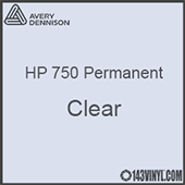 "Avery HP 750 - Clear- 12"" x 24"" Sheet"