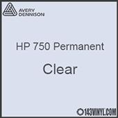 "Avery HP 750 - Clear- 12"" x 12"" Sheet"