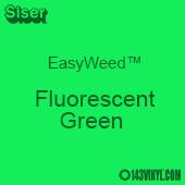 """12"""" x 15"""" Sheet Siser EasyWeed HTV - Fluorescent Green"""