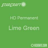 "24"" x 10 Yard Roll - StarCraft HD Glossy Permanent Vinyl - Lime Green"