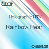 "12"" x 20"" Sheet Siser Holographic HTV - Rainbow Pearl"