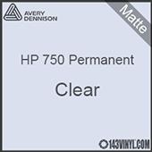 "Avery HP 750 - Matte Clear- 12"" x 5 Foot"