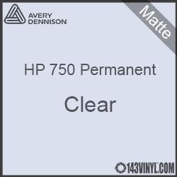 "Avery HP 750 - Matte Clear- 12"" x 12"" Sheet"