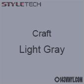 "Styletech Craft Vinyl - Light Gray- 12"" x 24"" Sheet"