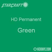 "12"" x 10 Yard Roll - StarCraft HD Glossy Permanent Vinyl - Green"