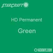 "12"" x 12"" Sheet - StarCraft HD Glossy Permanent Vinyl - Green"