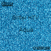 """Glitter HTV: 12"""" x 5 Yard Roll - Aqua"""
