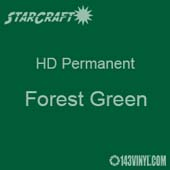 "12"" x 10 Yard Roll - StarCraft HD Glossy Permanent Vinyl - Forest Green"