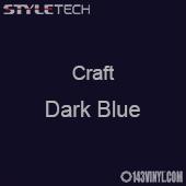 "Styletech Craft Vinyl - Dark Blue- 12"" x 24"" Sheet"