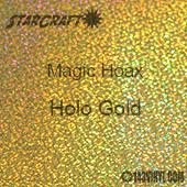 "12"" x 24"" Sheet - StarCraft Magic - Hoax Holo Gold"