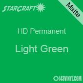 """12"""" x 24"""" Sheet - StarCraft HD Matte Permanent Vinyl - Light Green"""