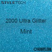 "StyleTech 2000 Ultra Glitter - 132 Mint - 12""x24"" Sheet"