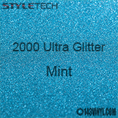 "StyleTech 2000 Ultra Glitter - 132 Mint - 12""x12"" Sheet"