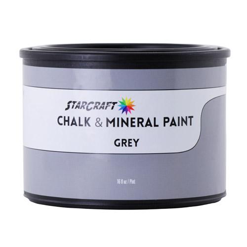 StarCraft Chalk & Mineral Paint - Pint, 16oz-Grey