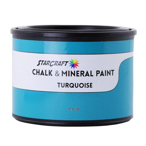 StarCraft Chalk & Mineral Paint - Pint, 16oz-Turquoise