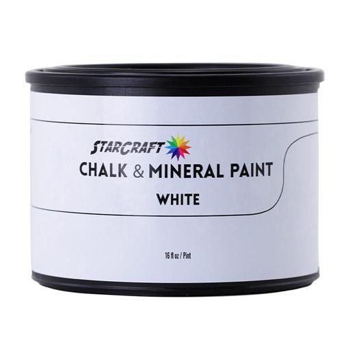 StarCraft Chalk & Mineral Paint - Pint, 16oz-White