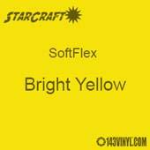 "12"" x 5 Foot Roll -StarCraft SoftFlex HTV - Bright Yellow"