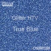"Glitter HTV: 12"" x 20"" - True Blue"