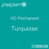 "12"" x 10 Yard Roll - StarCraft HD Glossy Permanent Vinyl - Turquoise"