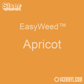 """EasyWeed HTV: 12"""" x 5 Foot - Apricot"""