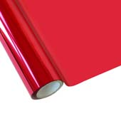 """25 Foot Roll of 12"""" StarCraft Electra Foil - Strawberry"""