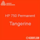 "Avery HP 750 - Tangerine- 12"" x 5 Foot"