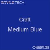 "Styletech Craft Vinyl - Medium Blue- 12"" x 24"" Sheet"