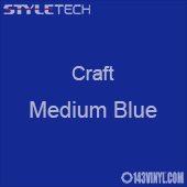 "Styletech Craft Vinyl - Medium Blue- 12"" x 5 Foot"