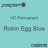 "12"" x 12"" Sheet - StarCraft HD Glossy Permanent Vinyl - Robin Egg Blue"