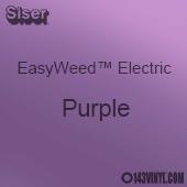 "12"" x 15"" Sheet Siser EasyWeed Electric HTV - Purple"