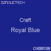 "Styletech Craft Vinyl - Royal Blue- 12"" x 24"" Sheet"
