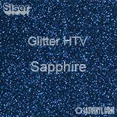 """Glitter HTV: 12"""" x 20"""" - Sapphire"""