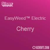 "12"" x 15"" Sheet Siser EasyWeed Electric HTV - Cherry"