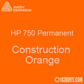 "Avery HP 750 - Construction Orange- 12"" x 5 Foot"