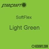 """12"""" x 5 Foot Roll -StarCraft SoftFlex HTV - Light Green"""