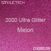 "StyleTech 2000 Ultra Glitter - 133 Melon - 12""x24"" Sheet"