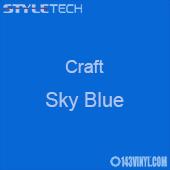 "Styletech Craft Vinyl - Sky Blue- 12"" x 24"" Sheet"
