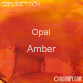 "StyleTech Opal - Amber - 12"" x 24"" Sheet"