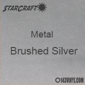 """12"""" x 12"""" Sheet - StarCraft Metal- Brushed Silver"""