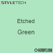 "Etched Green Vinyl - 12"" x 12"" Sheet"