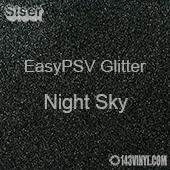 """Siser EasyPSV Glitter - Night Sky (80) - 12"""" x 24"""" Sheet"""